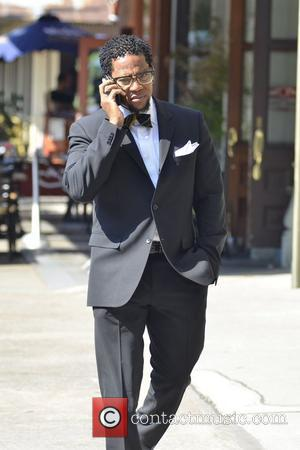 Comedian DL Hughley is seen strolling in Soho, Manhattan New York City, USA - 10.07.12