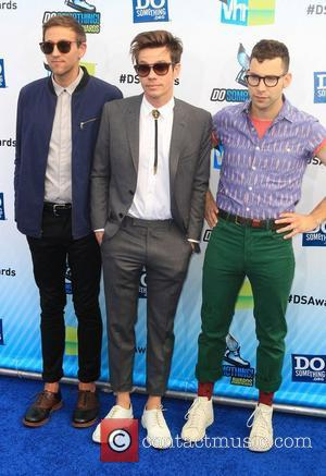 Andrew Dost, Nate Ruess and Jack Antonoff of the band fun  at the DoSomething.org and VH1's 2012 Do Something...