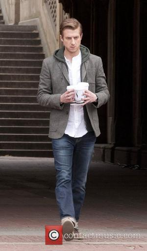 Arthur Darvill on location in Central Park, filming another episode of 'Doctor Who'  New York City, USA - 11.04.12