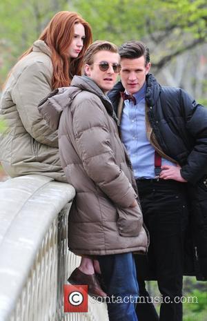 Matt Smith, Doctor Who, Karen Gillan and Central Park