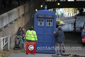 The Tardis, Doctor Who and London