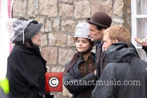 Diana Rigg, Jenna-louise Coleman and Matt Smith