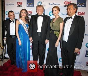Donald Trump, Ivanka Trump and Olivia Culpo