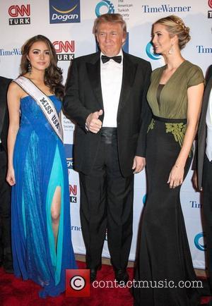 Olivia Culpo, Donald Trump and Ivanka Trump