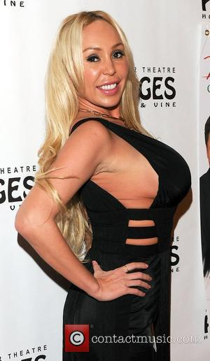 Mary Carey,  at the Donny & Marie Osmond Christmas show at the Pantages Theater. Los Angeles, California - 04.12.12