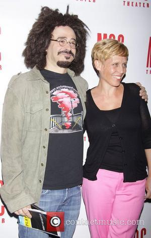 Adam Duritz and Lucie Tiberghien  Opening night after party for the MCC production of 'Don't Go Gentle' at the...