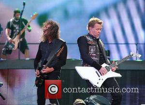Kirk Hammett, James Hetfield, Metallica and Download Festival