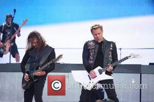 Kirk Hammett, James Hetfield, Metallica and Download Festival