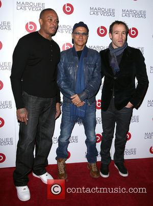 Dr Dre; Jimmy Lovine; Luke Wood Beats by Dr. Dre celebrate CES with an after-party at Marquee nightclub with special...