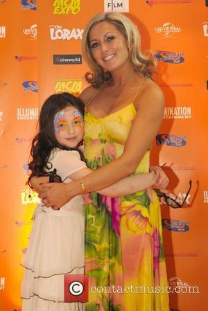 Suzanne Collins and her daughter Mya Collins UK film premiere of Dr. Seuss' The Lorax at Cineworld Birmingham  Birmingham,...
