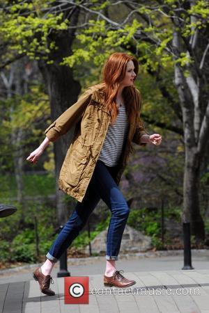 Karen Gillan and Central Park