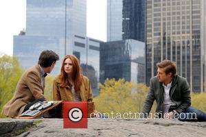 Matt Smith, Karen Gillan and Central Park