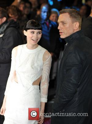 Rooney Mara, Daniel Craig and Odeon Leicester Square