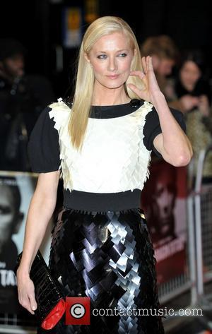 Joely Richardson and Odeon Leicester Square