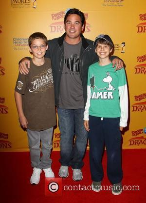 Dean Cain with his son Christopher Cain 'Dragons' presented by Ringling Bros. & Barnum & Bailey Circus at Staples Center...