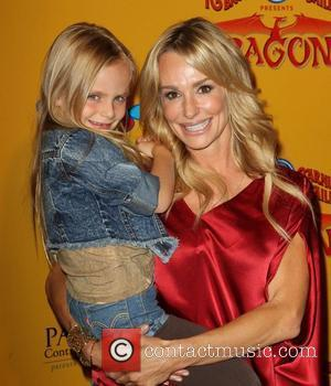 Taylor Armstrong and Her Daughter Kennedy 'Dragons' presented by Ringling Bros. & Barnum & Bailey Circus at Staples Center -...