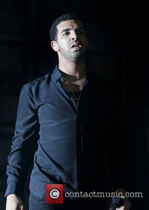Rapper Drake performing at Manchester Evening News Arena Manchester, England - 01.04.12