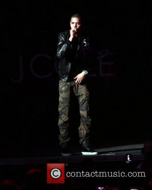 J Cole performs live at Ashley Furniture HomeStore Pavilion, as part of his 'Club Paradise Tour' Phoenix, Arizona - 10.05.12