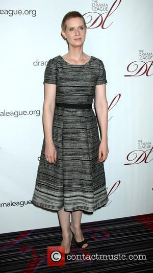 Cynthia Nixon The 78th Annual Drama League Awards, held at the Marriott Marquis Times Square Hotel - Arrivals  New...