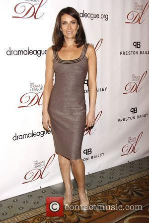 Laura Benanti wearing Carmen Marc Valvo  The 2012 Drama League Gala, held at the Pierre Hotel - Arrivals....