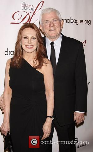 Marlo Thomas and Phil Donahue  The 2012 Drama League Gala, held at the Pierre Hotel - Arrivals.  New...
