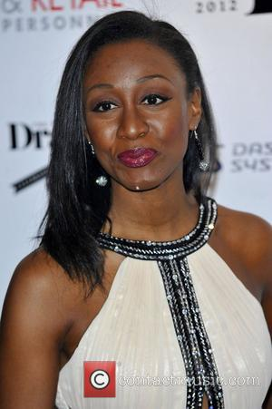 Beverley Knight,  at the Drapers Fashion Awards at Grosvenor House. London, England - 21.11.12