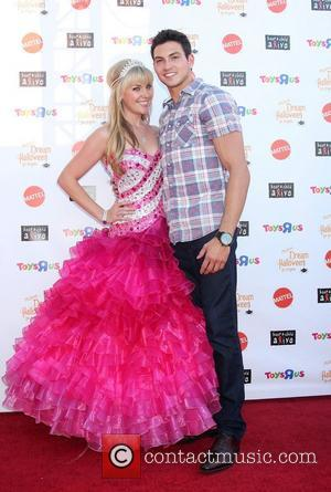 Barbie and Rob Wilson arrives at 'Keep A Child Alive Presents 2012 Dream Halloween Los Angeles' at Barker Hanger...