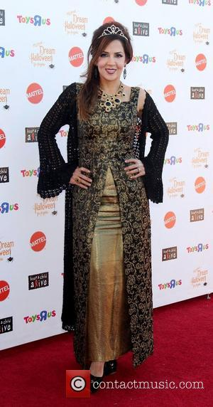Maria Canals-Barrera arrives at 'Keep A Child Alive Presents 2012 Dream Halloween Los Angeles' at Barker Hanger  Santa Monica,...