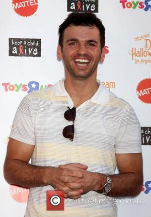 Tony Dovolani arrives at 'Keep A Child Alive Presents 2012 Dream Halloween Los Angeles' at Barker Hanger  Santa Monica,...