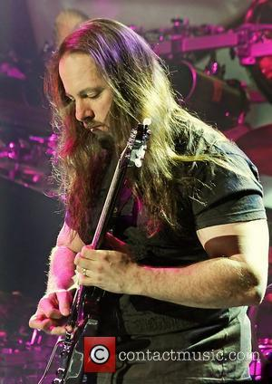 John Petrucci of Dream Theater performing at Manchester O2 Apollo. Manchester, England - 09.02.12
