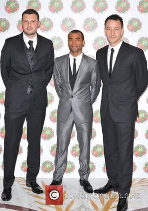 Ross Turnbull, John Terry, Ashley Cole The Didier Drogba Foundation Charity Ball held at The Dorchester. London, England - 10.03.12