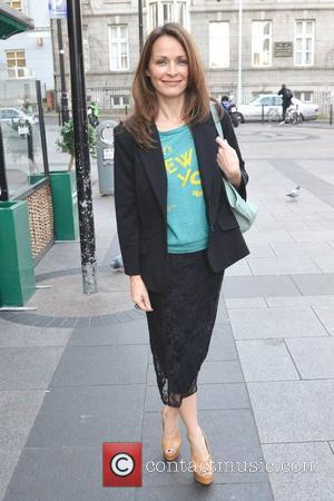 RTE's 'The Voice ' judge Sharon Corr is spotted near Stephens Green Shopping Centre Dublin, Ireland - 10.01.12