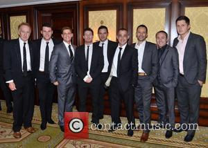 Danny Miller, Philip Olivier, Dean Gaffney, Ryan Thomas, Michael LeVell, Rhodri Giggs, and guests The Steven Gerrard & Keith Duffy...