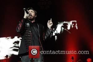 Simon Le Bon of Duran Duran perform at the 02 Arena. London, England - 12.12.11.