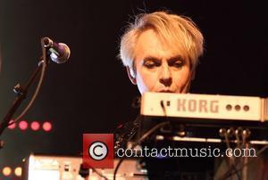 Nick Rhodes Duran Duran perform live at the Adelaide Entertainment Centre Adelaide, Australia - 20.03.12