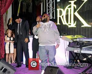 Udonis Haslem, Dwyane Wade and Rick Ross  Dwyane Wade's 30th Birthday Celebration at Setai Hotel  Miami Beach, Florida...