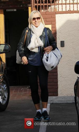 Martina Navratilova Dancing With The Stars' celebrities outside the dance rehearsal studios  Los Angeles, California - 28.02.12