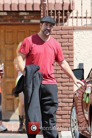 Joey Fatone Celebrities seen outside the rehearsal space for 'Dancing With the Stars' Los Angeles, California - 12.09.12