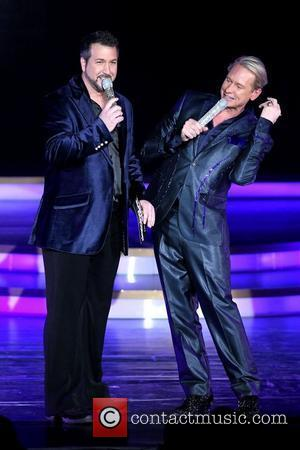Joey Fatone and Carson Kressley