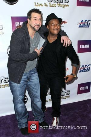 Joey Fatone and Kyle Massey