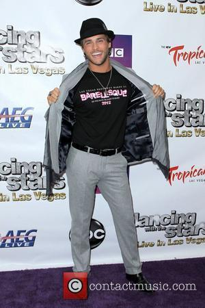 Josh Strickland Dancing With The Stars live in Las Vegas at The Tropicana Las Vegas, Nevada - 13.04.12