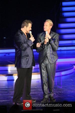 Joey Fatone and Carson Kressley