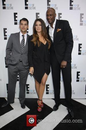 Rob Kardashian, Khloe Kardashian and Lamar Odom
