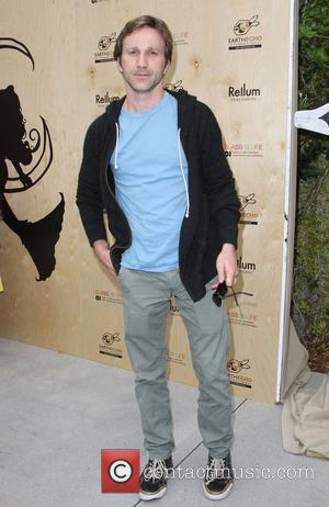Breckin Meyer at the 'Last Night I Swam With a Mermaid' book launch Earth day celebration held at the Annenberg...