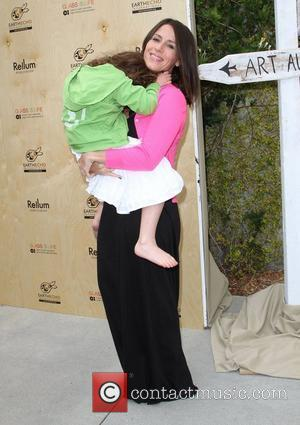Soleil Moon Frye at the 'Last Night I Swam With a Mermaid' book launch Earth day celebration held at the...