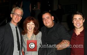 Andy Dick, Frances Fisher, Sam Trujillo and Paris Dylan