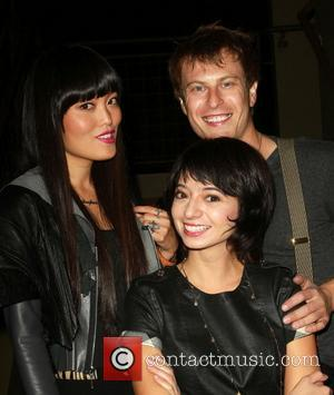 Hana Mae Lee, Noah Segan and Kate Micucci
