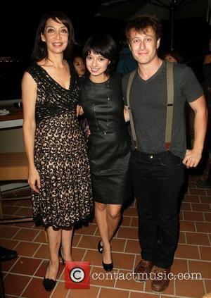 Illeana Douglas, Noah Segan and Kate Micucci