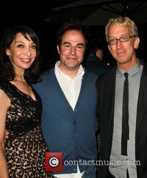 Illeana Douglas, Roger Bart and Andy Dick