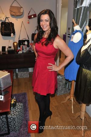 Suzi Perry eBay Christmas Boutique in Soho opens to the public today. London, England - 01.12.11